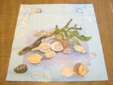 2 Paper Napkins -Seashells - Decoupage, Craft, Scrapbook, Altering