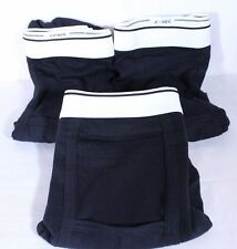 Jockey Underwear Lot of 3 Black Briefs Size XL Cotton Lycra Blend  NWOPackage