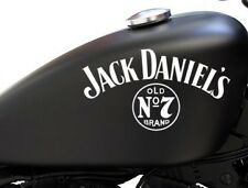 2 x JACK DANIELS OLD NO 7 TANK  Vinyl Sticker Decals