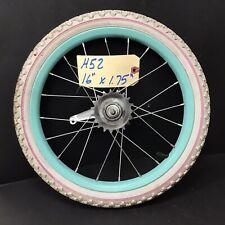 "16"" Bicycle Rear Blue Wheel w/ Coaster Brake & 1.75 Tire Mini-BMX Bike #H52"
