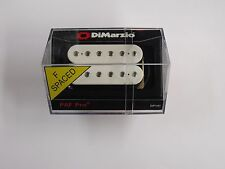 DiMarzio F-spaced PAF Pro Humbucker White W/Chrome Poles DP 151