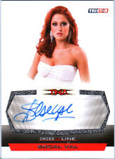 TNA SoCal Val 2008 Cross The Line SILVER Authentic Autograph Card