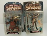 McFarlane Dark Ages Spawn Series 11 Skull Queen and Ogre Figures NIB