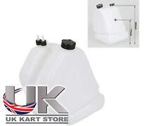 Benzina / Carburante Serbatoio 9 Litri sgancio rapido tipo NERO Caps UK KART Store