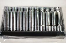 """NEW Snap-on 320TSWMA 20 pc 1/2"""" Dr. Metric Shallow and Deep Socket Set 10-20mm"""
