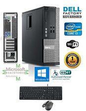 Dell Optiplex Desktop Computer Intel Core i3 Window hp 64 500gb 3.3ghz 4gb