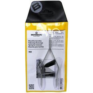 Bergeon 7825 Spring Bar Tweezer Lug Removal Fitting Tool Swiss - HT7825