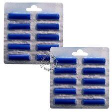 20 x Duftstäbchen Blau >Meeresbriese< für alle Staubsauger / Vorwerk / AEG /6014