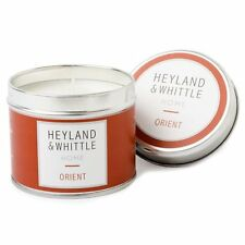 Heyland & Whittle Home Soy Candle, Scent of the ORIENT Soy Candle in a Tin