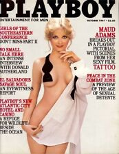 Playboy October 1981 / Girls Of The SEC / Cathy St. George / Donald Sutherland
