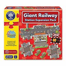 Orchard Toys Station Expansion Pack Puzzle Giant Railway System FREE DELIVERY