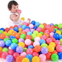 50pcs  Swim Safty Secure Baby Kid Pit Toys Colorful Soft Plastic Ocean Ball