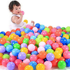 50pcs Swim Safty Secure Baby Kid Pit Toys Colorful Soft Plastic Ocean Ball 5.5cm