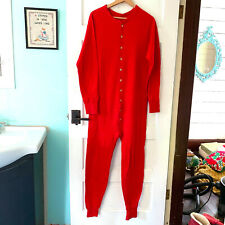 New listing Vtg red Duofold Long Johns Union Suit thermal underwear Xl