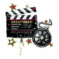 HOLLYWOOD CLAPBOARD SUPERSHAPE FOIL BALLOON BIRTHDAY PARTY SUPPLIES