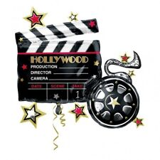 HOLLYWOOD CLAPBOARD SUPERSHAPE BALLOON BIRTHDAY PARTY SUPPLIES