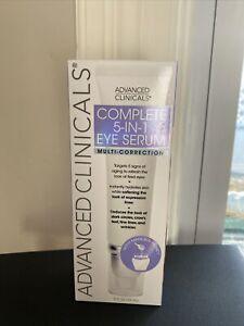 Advanced Clinicals ~ Complete 5 in 1 Eye Serum Multi-Correction 2 Fl Oz (59mL)