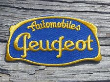 A013 ECUSSON PATCH THERMOCOLLANT aufnaher toppa PEUGEOT voiture automobile moto
