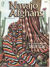 Navajo Afghans Crochet Instructions Traditional Native American Patterns HOWB