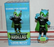 Luchador Nutzy ARDILLAS VOLADORAS 2019 Richmond Flying Squirrels Bobblehead SGA