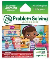 LeapFrog Explorer Game:Disney Doc McStuffins for LeapPad and LeapsterGS