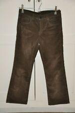 All Saints Brown Velvet Kick-Flare Jeans W28