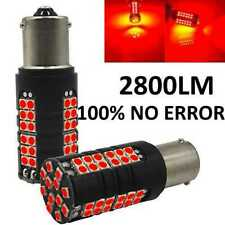 2x LAMPADA LED STOP 2800LM CANBUS  P21W 1156 BA15S ROSSO JEEP