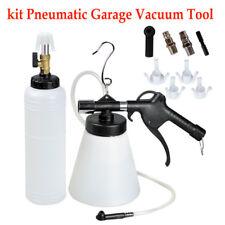 1L Air Brake Fluid Bleeder Bleeding Pneumatic Garage Vacuum Tool kit 207cm Hose