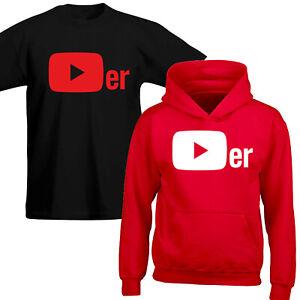 YouTuber Player T-shirt Hoody Gaming Gift Viral Adults Kids T-Shirt Novelty