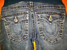 True Religion maternity jeans peas in a pod size 31