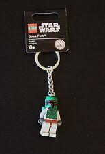 STAR WARS LEGO BOBA FETT KEY RING - TAGGED