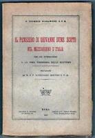 SCOTISMO - MEZZOGIORNO ITALIANO - SCARAMUZZI - ROMA, 1927