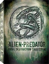 Alien Predator Total Destruction DVD Collection 8-Disc Boxset AVP Aliens 1 2 3