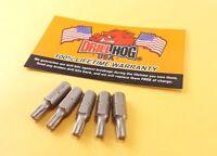 """Drill Hog® T-10 Torx Bit T-10 Star Bit T-10 x 1"""" Insert Lifetime Warranty 5 Pc"""