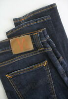 RRP€139 NUDIE TUBE TOM ORG. AGED INK Men's W30/L32 Slight Fading Jeans 5191_mm