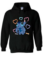 Disney Lilo and Stitch Ohana Painting stitch gift Hoodie Men Women Unisex V165