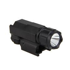 Tactical 2000Lm LED Rifle Gun Shotgun Flashlight Torch Hunting Light Lamp 16340
