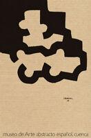EDUARDO CHILLIDA - Museo de arte abstracto espalol de Cuenca. 74 x 50 cm