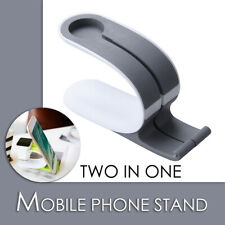 Universal phone holder stand bedside smart charging dock watch bracket Gray
