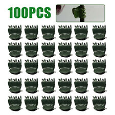 100Pcs/set Plant Clips for Orchid Flower Garden Support Vines Grow Upright Us