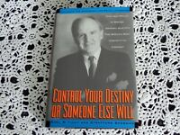 Control Your Destiny or Someone Else Will by Noel M. Tichy SIGNED 1st Edition HC