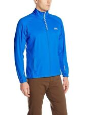 Helly Hansen Mens Pace Training Jacket 3-Layer Microfiber Cobalt Blue NEW $100 L