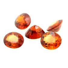 SPESSARTITE GARNET ORANGE. 3.91 cts. 5 pieces VVS Nigeria, Africa