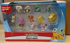 Pokemon Multi-Pack of 12 Figures Pikachu Charmander Squirtle Bulbasaur Ditto etc