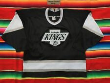 VTG Los Angeles KINGS NHL CCM black hockey jersey adult M 1990s NWA Gretzky era