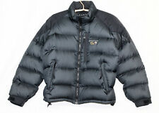 MOUNTAIN HARD WEAR Big Boy's Goose Down Puffer Jacket Sz 10 Black