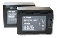 2x BATTERIE pour Samsung HMX-F90