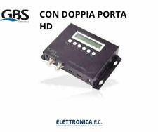 MODULATORE GBS AUDIO/VIDEO DVB-T CON PORTA HD PASSANTE
