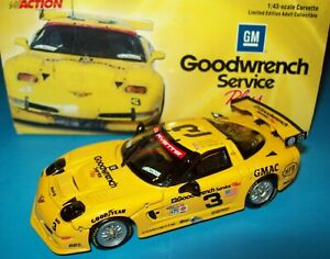 2000 GM Goodwrench Corvette C5R #3 Ron Fellows Chris Kneifel Justin Bell 1/43