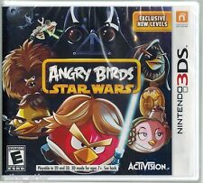 Angry Birds Star Wars (Nintendo 3DS, 2013) Factory Sealed